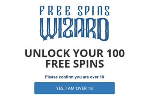 Free 100 Spins Wizard