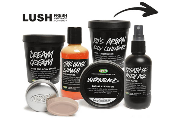Free Lush Sample Box