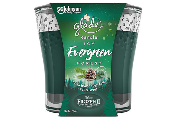 Free Glade Christmas Candle