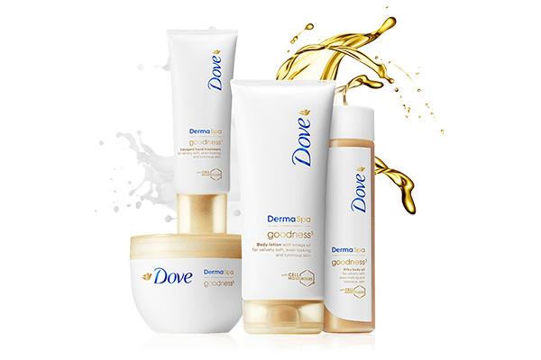 Free Dove Spa Beauty Bundle