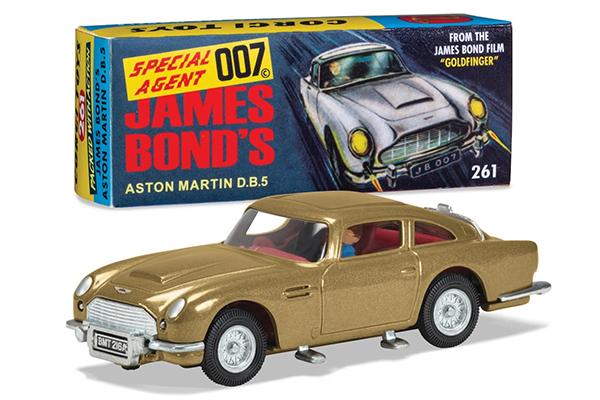Free James Bond Aston Martin Toy