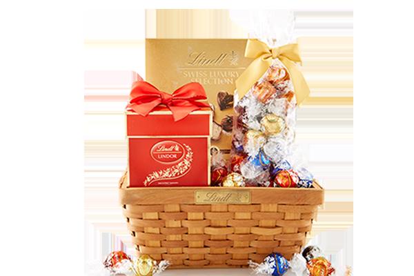 Free LINDT Gift Basket