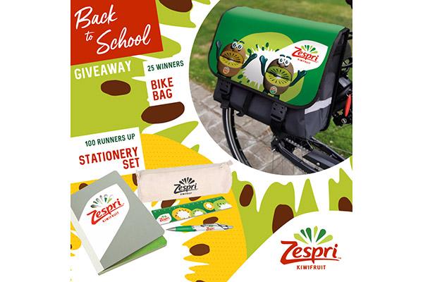 Free Zespri Stationary Set