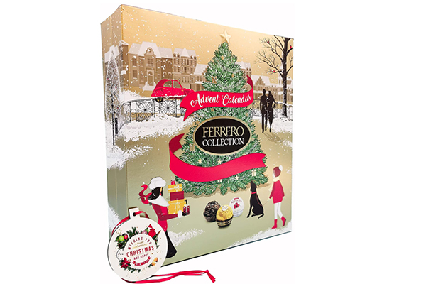 Free Ferrero Rocher Advent Calendar