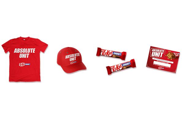 Free KitKat T-Shirt