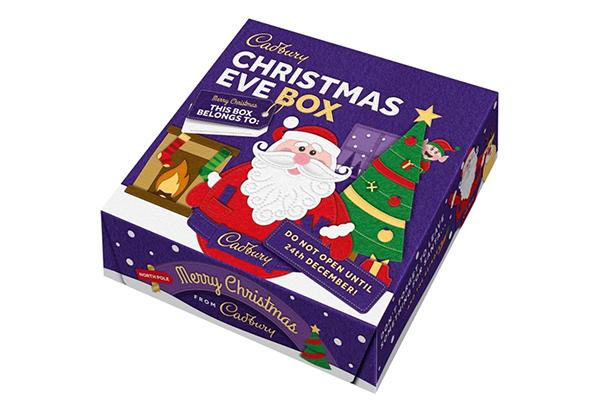 Free Cadbury Xmas Eve Box
